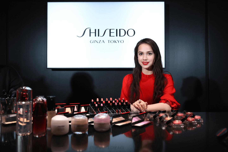 SHISEIDO × ALINA ZAGITOVA
