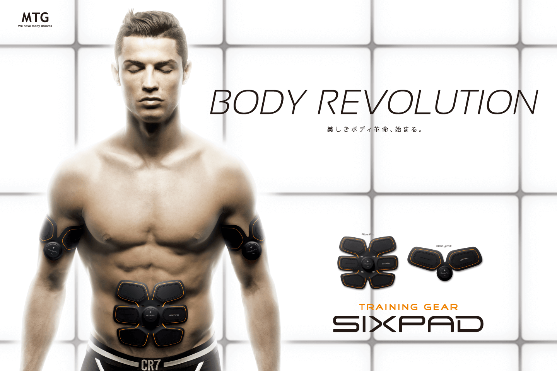 SIXPAD × Cristiano Ronaldo Project